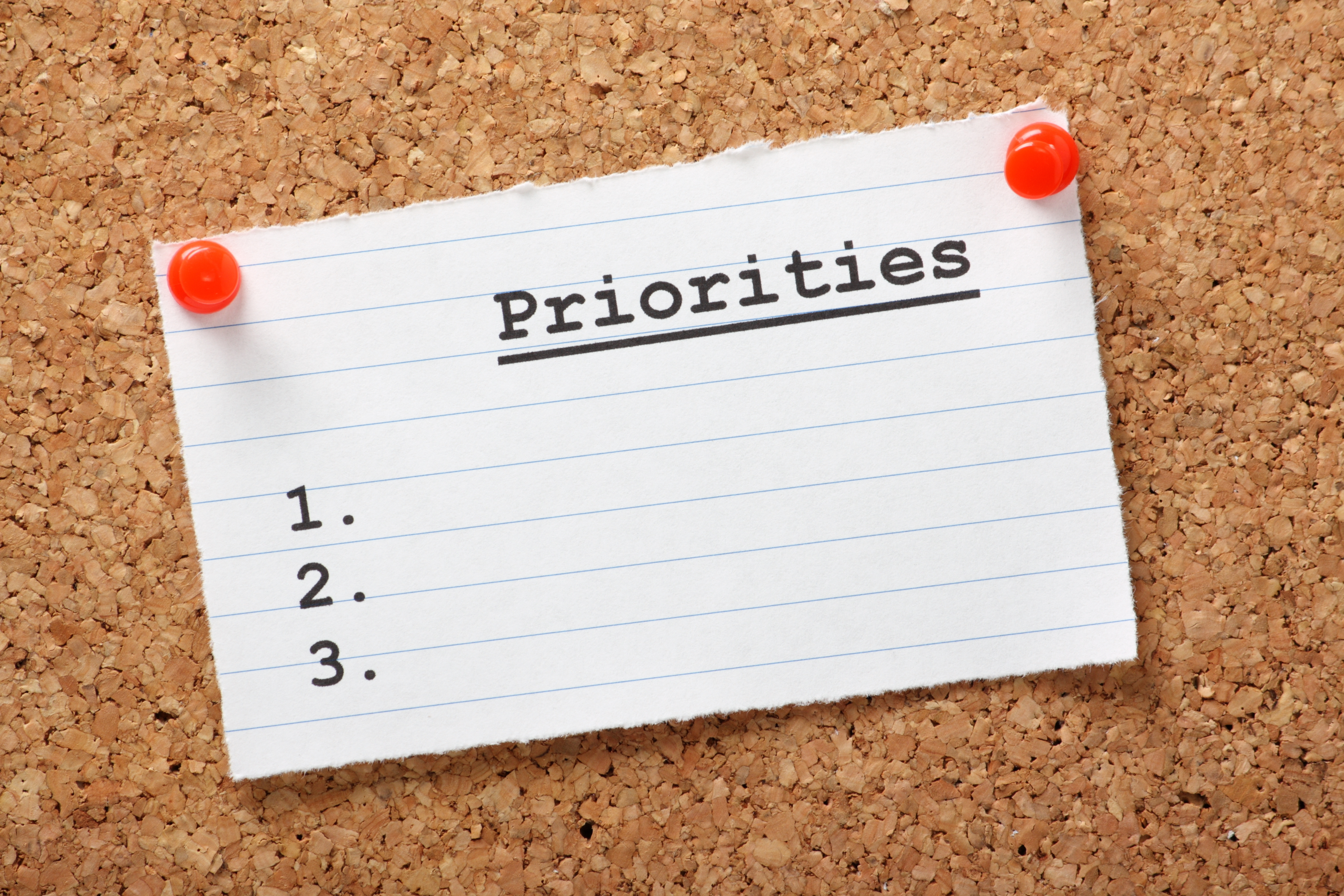 Priorities in life essay